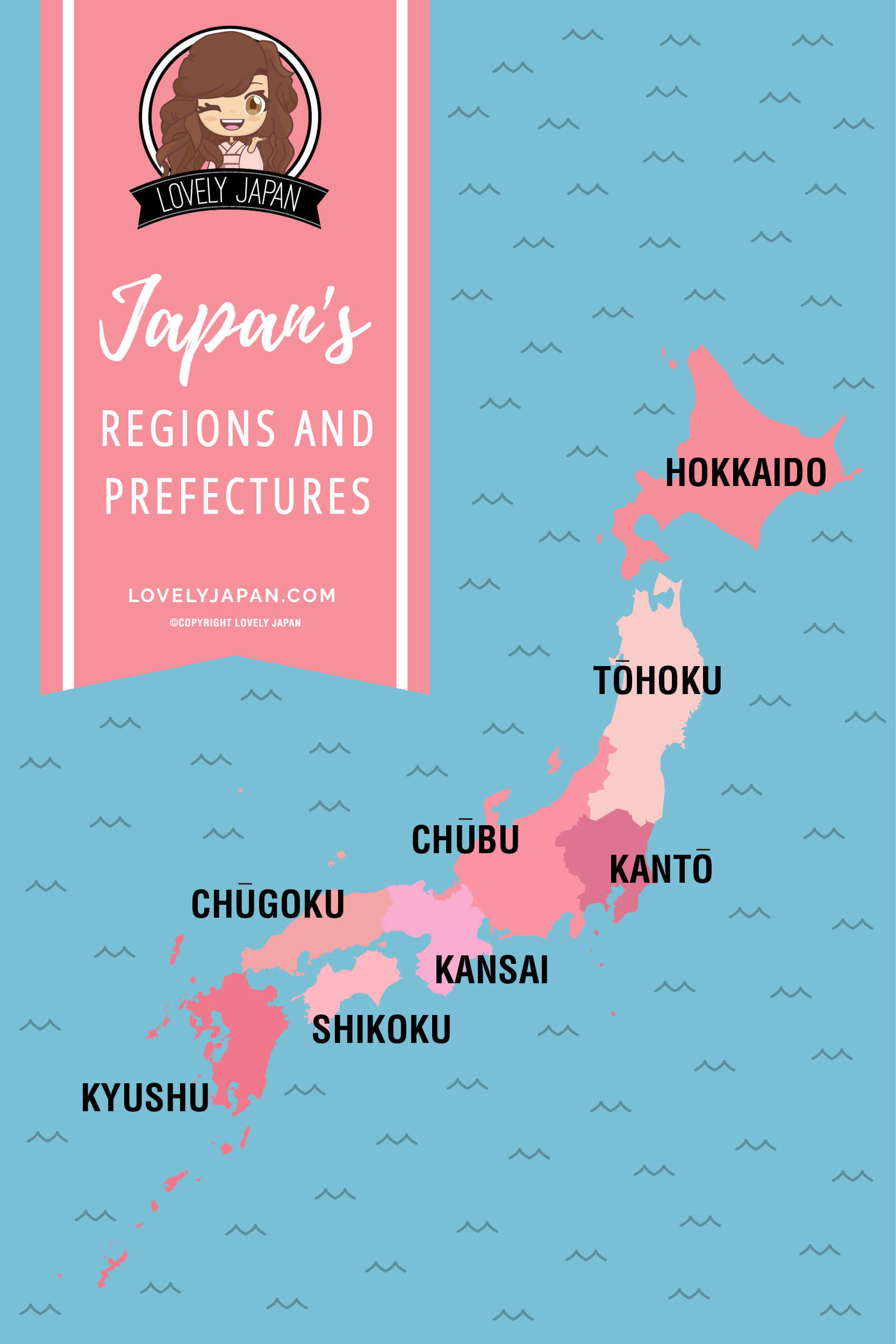 Japan's Regions and Prefectures