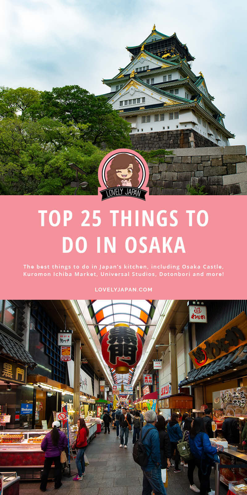 Top 25 Things to do in Osaka