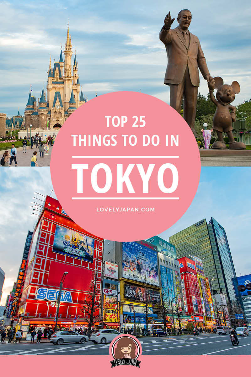 Top 25 Things to do in Tokyo