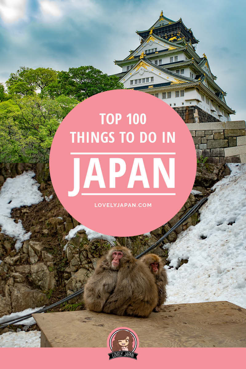 Ultimate Japan Bucket List